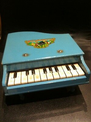 Vintage Toy Baby Grand Piano from 1960s- Toy