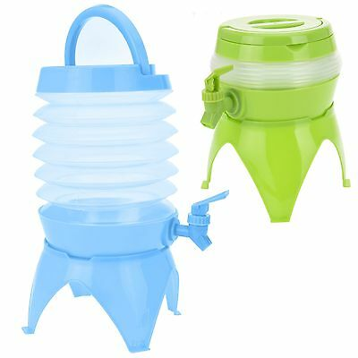 Large Plastic Drink Dispenser Stand Tap Outdoor BBQ Cocktail Collapsible NEW