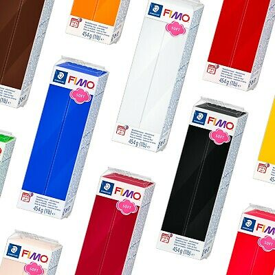 FIMO Soft 350g Polymer Modelling Clay - All 11 Colours - Buy 5, Only Pay for 4