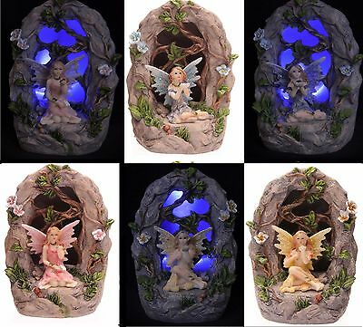 New Flower Fairy Woodland Grove Grotto Backlit LED Assorted