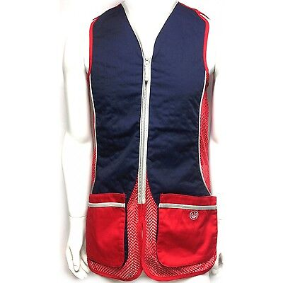 Beretta Mens Silver Pigeon Clay Shooting Vest - Size S