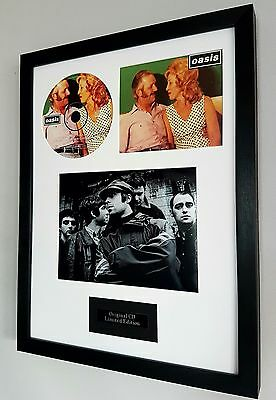 Oasis-Stand By Me-Framed Original CD-Ltd Edition-Certificate-Noel Gallagher
