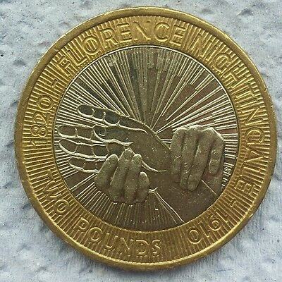 florence nightingale 2 pound coin