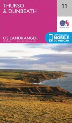 Thurso & Dunbeath by Ordnance Survey 9780319261095 (Sheet map, folded, 2016)