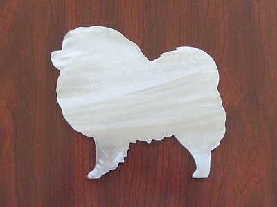"Chow Chow Dog Metal Steel Silhouettes Home Decor Unpainted Art 7"" USA Made"