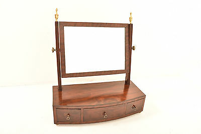 A 20th Century Antique Edwardian Mahogany Dressing Table Mirror