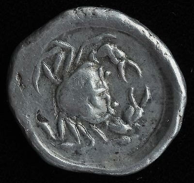 Ancient Coin - SICILY, AKRAGAS before 413 BC
