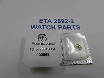 GENUINE WATCH PARTS ETA 2892/2 THIRD WHEEL PARTS No 210 FREE POSTAGE