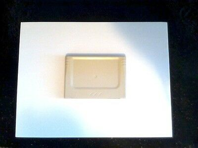 White memory cartridge for Sega Saturn (japanese version)