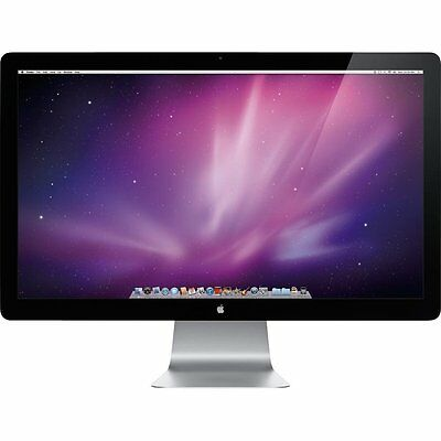 "Apple Cinema LED Display 27""  Widescreen Monitor A1316 MC007LL/A  A++ Grade"
