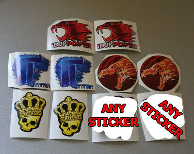 x10 stickers from CSGO real life Set #3 Titan iBuypower Howl MLG CS Aufkleber