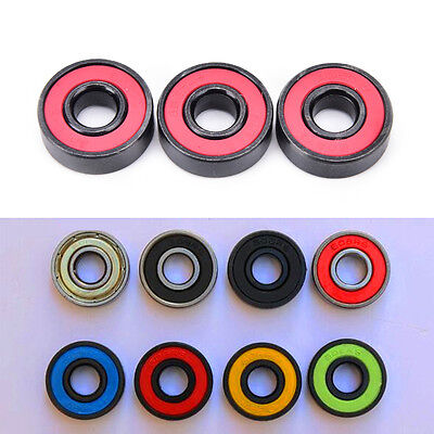 608RS ceramic ball inline bearing for finger spinner / skateboard roller wheels