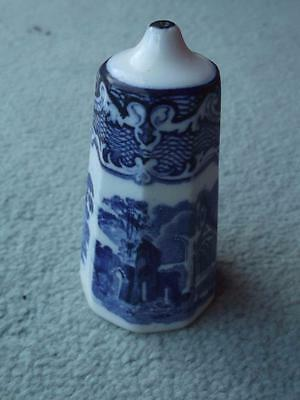 George Jones Abbey Pattern Salt Pot c1920's Super RARE Shape
