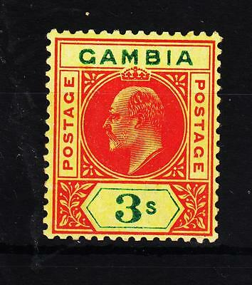 Gambia Ed.VII 1902 ( SG 56 ) L.H.Mint