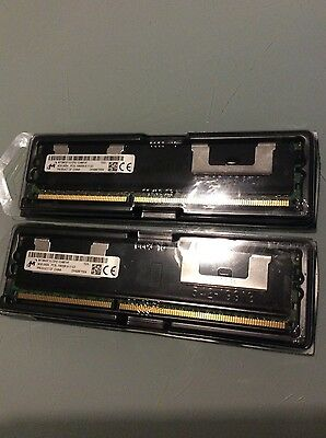Micron 16GB 2x8GB 2Rx4 PC3L-10600R DDR3 1333Mhz ECC REG Server Memory 240PIN