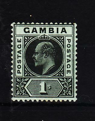 Gambia Ed.VII 1909 ( SG 81 ) H.Mint