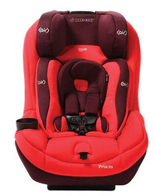 Maxi Cosi Pria 70 Convertible Car Seat with Tiny Fit - Intense Red