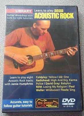Lick Library Learn To Play Acoustic Rock DVD