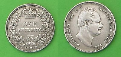 Sterling silver shilling 1834