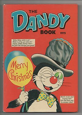 DC Thomson  - The Dandy Book Annual  - 1975 - EXCELLENT!!!