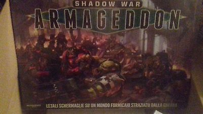 Games workshop 40k  Shadow of war Armageddon