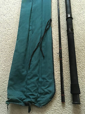 SHAKESPEARE OMNI 2.7m ACTION A-35 Fast Taper Fishing Rod Split Cane Carbon Fiber
