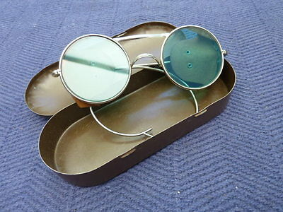 WW2 British Army Tinted Sunglasses - Sniper - Steampunk