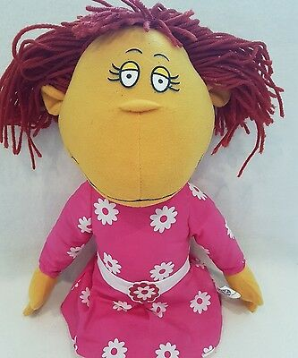 "The Tweenies New Large 21"" Fizz Soft Toy / Plush Doll / Pink Dress"