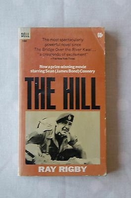 Ray Rigby Sean Connery The Hill US Dell Film tie-in Pbk 1965 1st