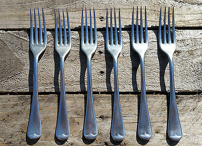 Vintage Perfect Firth Staybrite Old English fork (19cm) x 6 stainless cutlery