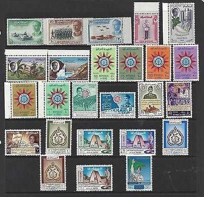 Iraq 1958 - 1960 Lot, MLH Complete Sets, SCV $77