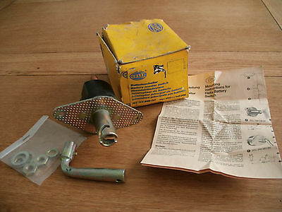 Classic Hella battery isolation switch 1559, heavy duty, genuine, old stock