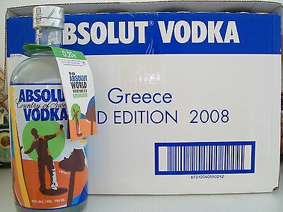 Absolut Vodka Greensaver Limited Edition With Tag (Worldwide Shipping)