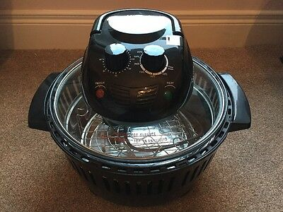 VonShef Premium Halogen Oven 12L Capacity With Cookbook
