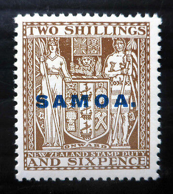 SAMOA 1932 - 2/6 Arms SG171 Mounted Mint NB1465