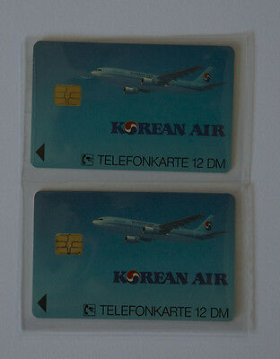 Telefonkarte Korean Airlines K 977