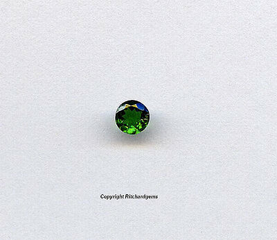 3mm Natural African Faceted Round Natural Tsavorite Garnet