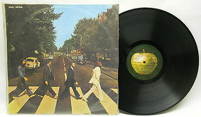 The Beatles Abbey Road LP APPLE Records Uruguay paper sleeve NM condition 33rpm