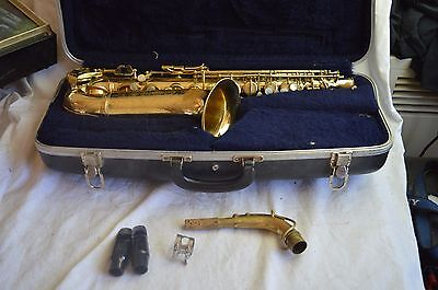 Vintage 1970 Conn Shooting Star Director Alto Saxophone Sax W/case Mouthpiece