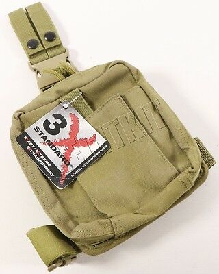 NEW North American Rescue Combat Casualty Response Drop Leg Pouch COYOTE TAN