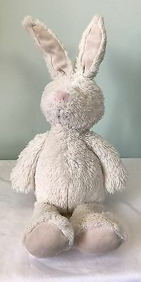 Vintage Pottery Barn Kids White Floppy Bunny Rabbit Stuffed Easter Country Chic