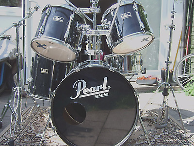 Pearl Export Series Drum Kit - Black