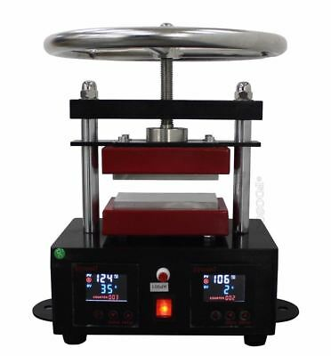 "Rosin Press Duel Heated Plates Professional 2.4"" X 4.7"" Hand Crank E"