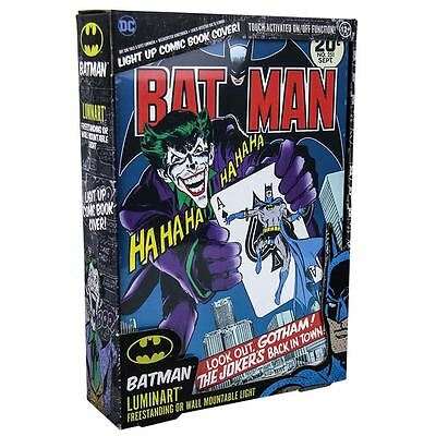 "Officially Licensed DC Comics Batman Cover Artwork 12"" Luminart"