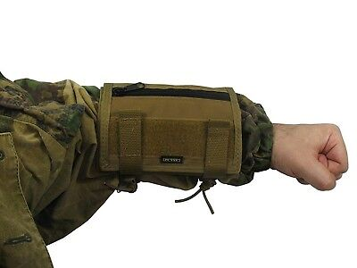 Russian Pouch Case map arm tablet molle atacs fg PAINTBALL airsoft coyote brown