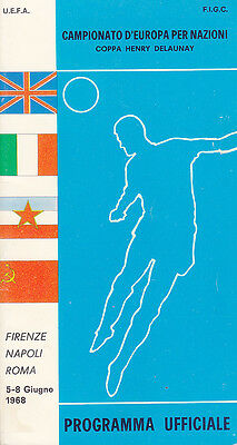 1968 European Championships Tournament Programme