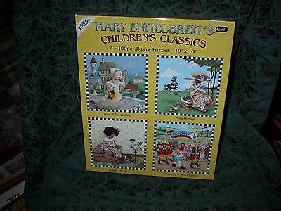 Mary Engelbreit Children's Classics 4 100 Piece Jigsaw Puzzles-New-4 Styles