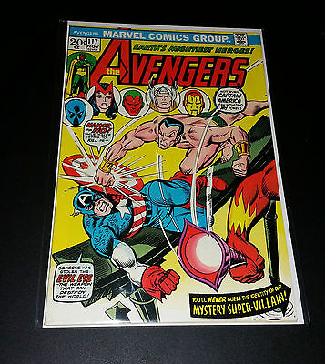 The Avengers #117 Nov 1973 Marvel Comics - Bronze Age - Very Fine