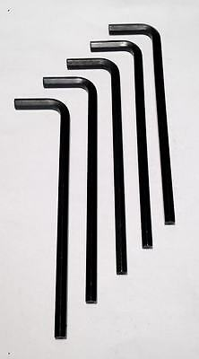 """10-Pack Eklind 3/16"""" Hex Key Long Wrench Made In USA 15212 NEW"""