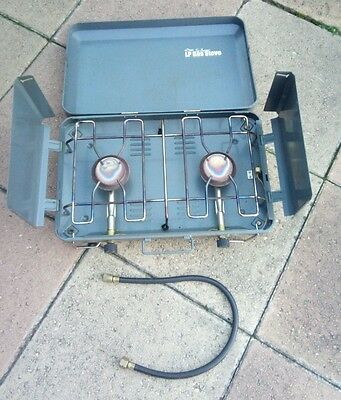 USED LPG Gas Portable Camping Outdoor Stove RRP$99